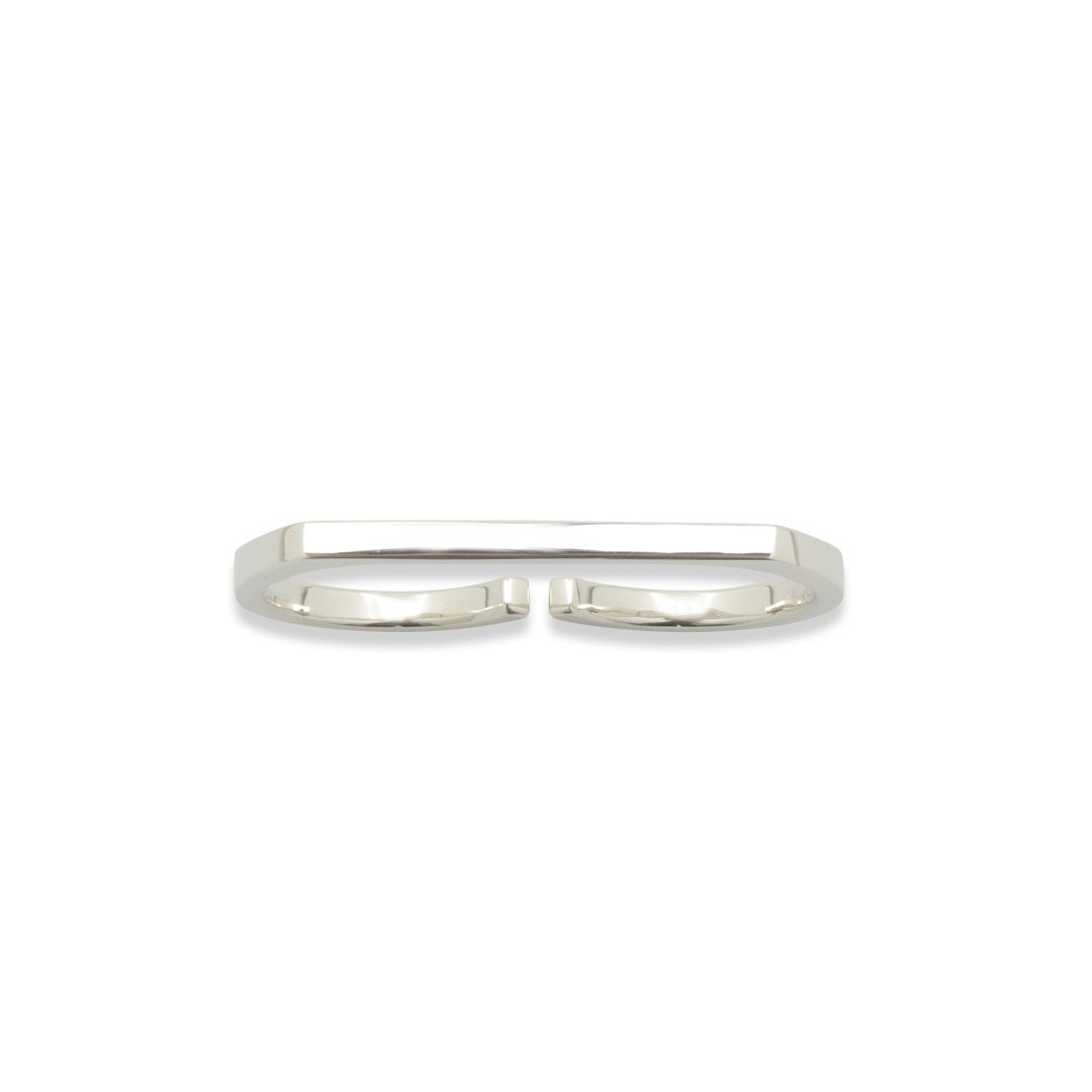 FINE DOUBLE RING L