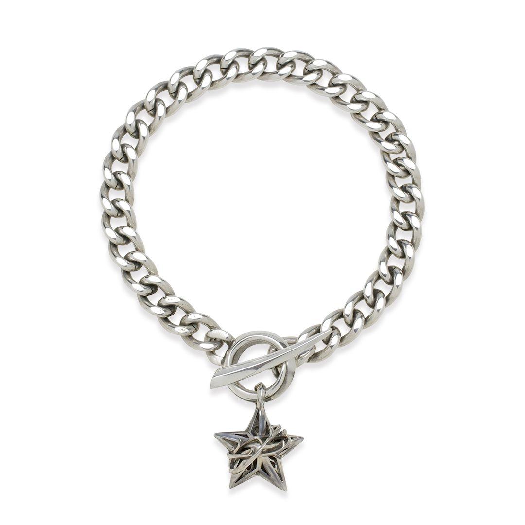 THORN STAR CHAIN BRACELET