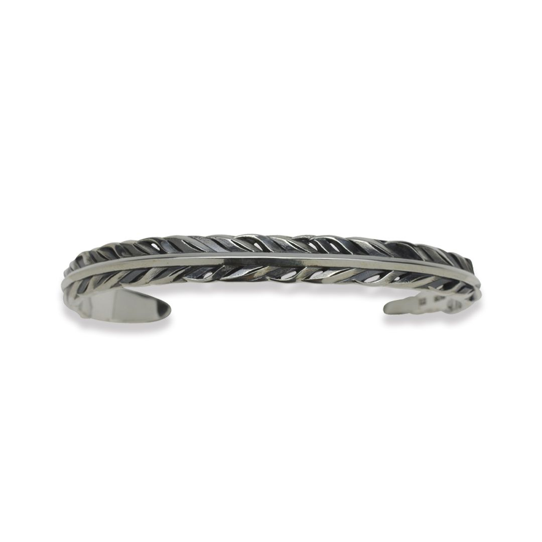 INTELLECTUAL FEATHER BANGLE