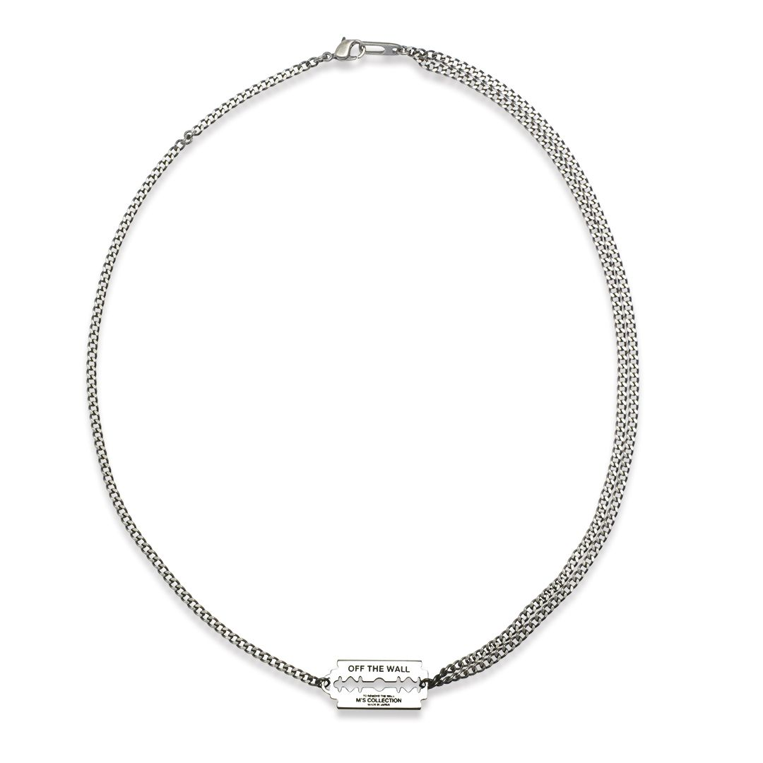 OFF THE WALL RAZOR NECKLACE