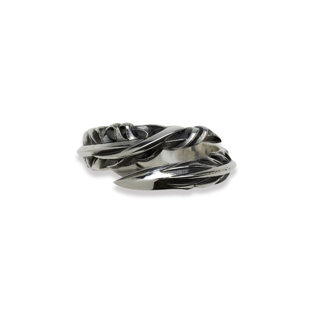 INTELLECTUAL FEATHER FREE RING S