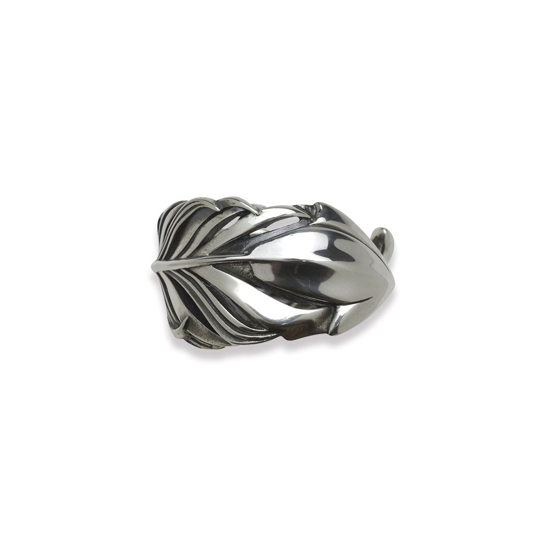 INTELLECTUAL FEATHER FREE RING M