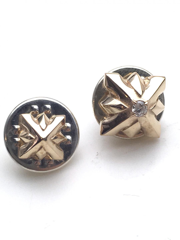 STUDS PIN SET DIAMOND